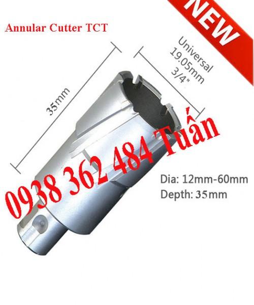 Mũi khoan từ hợp kim cắt sâu 35mm chuẩn Nitto giá rẻ